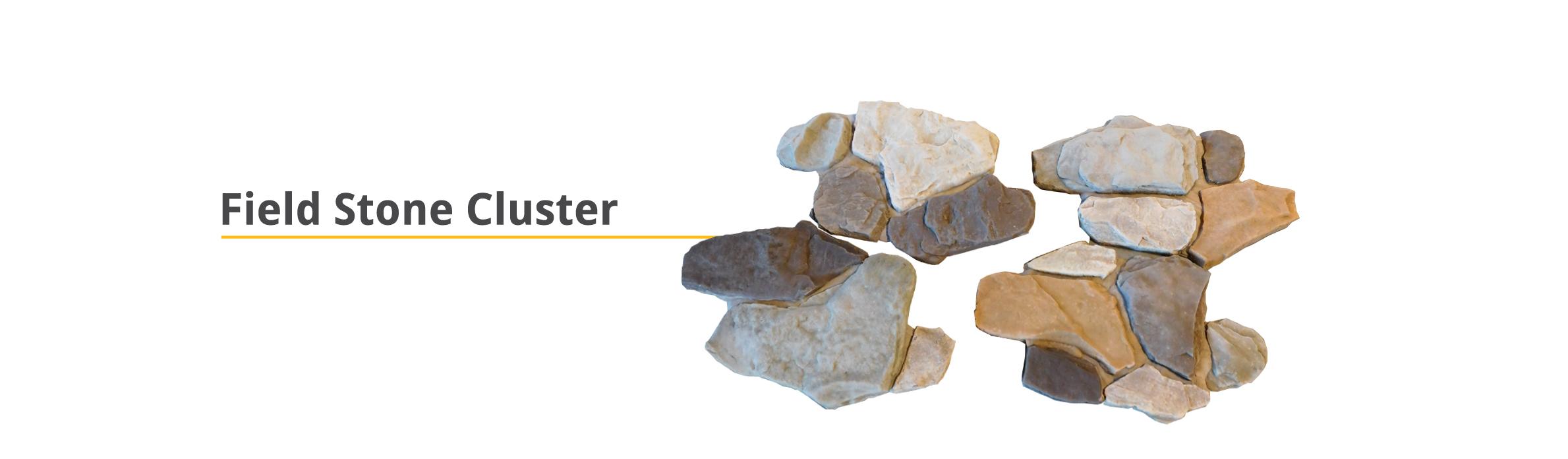 Cluster Stone Field Stone