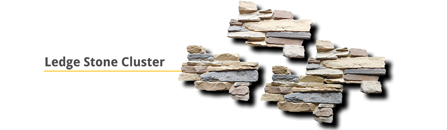 Cluster Stone Ledge Stone