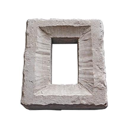 "Double Outlet Block 9"" x 8"""